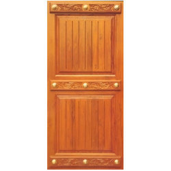 Designer African Teak Wood Door