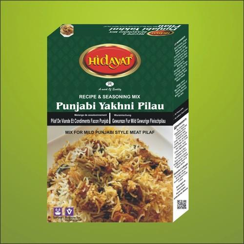 hidayat punjabi pilau masala packaging 50 g rs 70 piece id