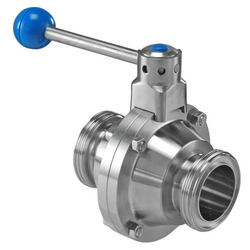 Stainless Steel Valves for Milk Plant