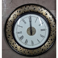 Antique Wooden Watch Clock