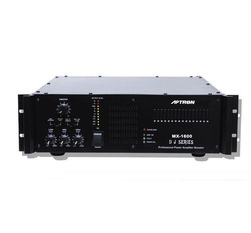 aptron black mx 1600 watts high power dj amplifie, rs 16200 piece  aptron black mx 1600 watts high power dj amplifie