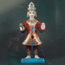 Seven Wood Swaminarayan Bhagavan Murti, Packaging Type: Box