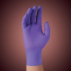 Kc500 Purple Nitrile Powder Free Examination Gloves