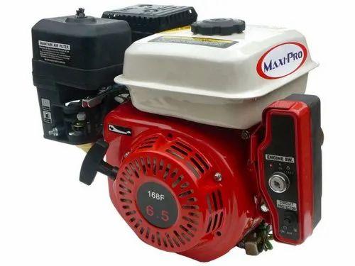 Electric Start 6 5 Hp Petrol Kerosene Ohv Engine With 12v7ah Battery