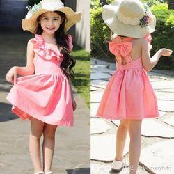 Girl Pink Baby Dress