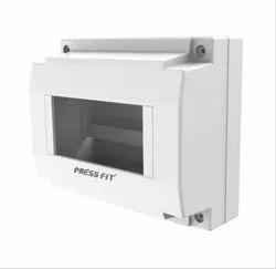Press Fit Plastic Back MCB Enclosure Box