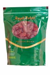 Royal Palms 500 g Fardh Dates, Packaging: Plastic Box