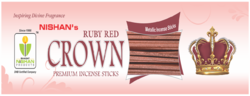Metallic Ruby Red Incense Sticks