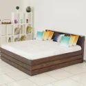 Godrej Sheesham Wood Grande Bed, Height: 940 Mm