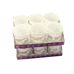 Helitap Plastic Tea Cup Set, for Home and Office