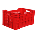 Red Rectangular Tomato Crate