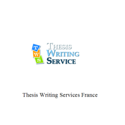 Thesis Writing Services France