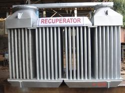 Four Pass Recuperator for Waste Heat Recovery