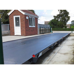 Blue Metal Industry Concrete/Steel Weighbridge