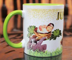 Ceramic Sublimation Printed Coffee Mugs for Office & Home