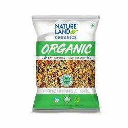 Natureland Organic Mixer Dal, Packaging Size: 1kg