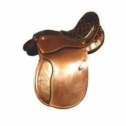 Vintage Leather Horse Saddle