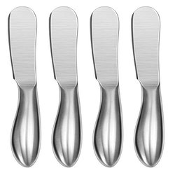 Steel Butter Spreader, For Hospitality, Finish: Glossy