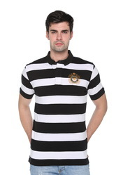 Trendy Solid Polo T-Shirt For Men