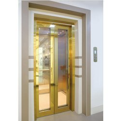 Automatic Center Opening Telescopic Glass Door