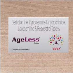 Benfotiamine Pyridoxamine Dihydrochloride Levocarnitine and Resveratrol Tablets