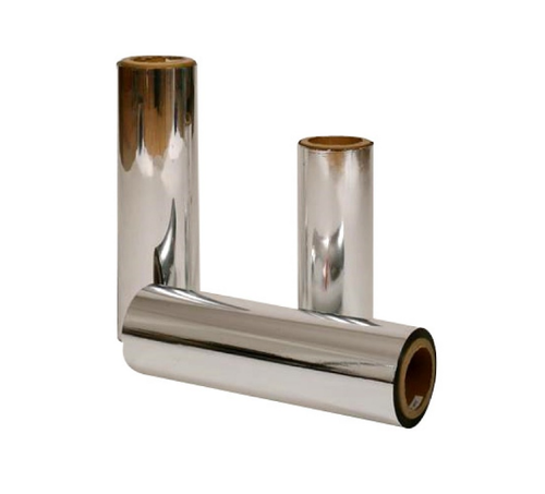 Triveni Poly Films Vacuum Metallized Polyester Film, Packaging Type: Roll