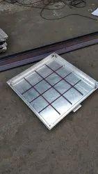 Aluminium Recessed Manhole Cover