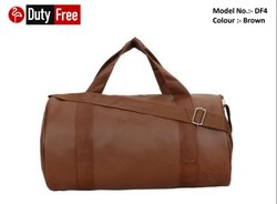 Plain Brown Gym Bag