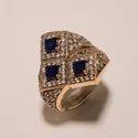 Sapphire Turkish Ring