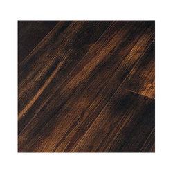 Dark Brown Veneer Wooden Flooring 2 8 Mm