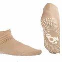 Pedder Johnson Ladies Ankle Length Dark Skin Nofall Socks