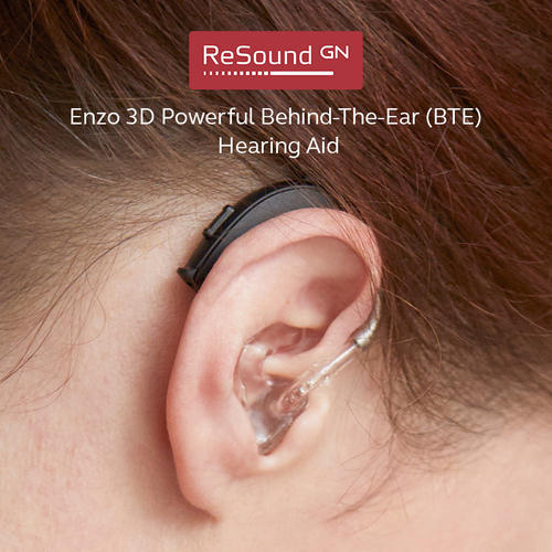 ReSound Enzo 3D BTE Hearing Aid - GN Hearing India Private