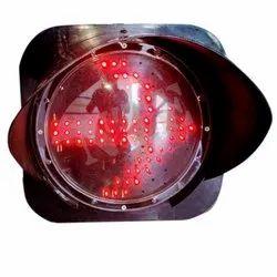 Red LED Traffic Signal Arrow