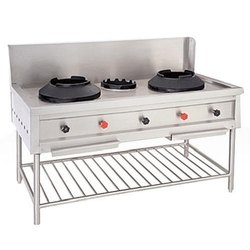 STEEL ACE LPG CHINESE COOKING RANGE, For Commercial