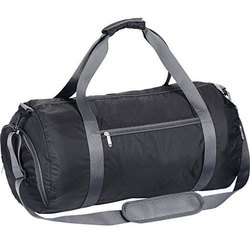Polyester Available in Black,Grey Sports Bag, For Gym