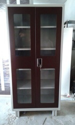Glass Door Cupboard Powder Coated