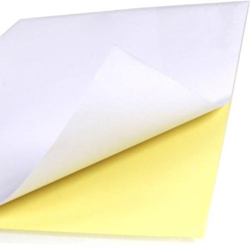 20*30 Inch White Paper Sticker Sheet, Packaging Type