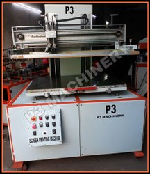 Flat Auto Screen Printing Machine