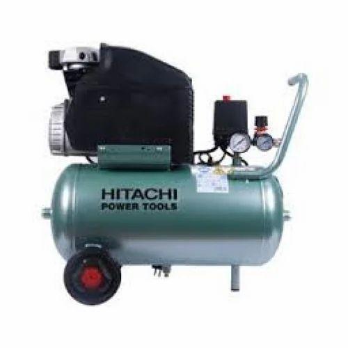 Electric Air Compressor >> Hitachi Ec68 Electric Air Compressor 1 5hp 24ltr