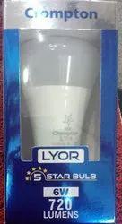 Crompton Lyor 5 Star Bulb