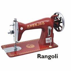 Manual Manually Operated Pooja Rangoli Sewing Machine, For Household