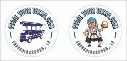 Pedal Tour Texas Label
