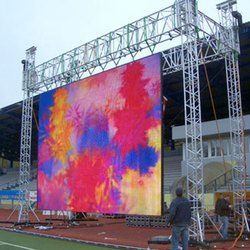 High Brightness Outdoor LED Screen p6mm HD Video Big Advertising LED TV Wall