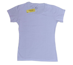 100 % Cotton 180 Gsm Namokool Plain Women's T-shirt
