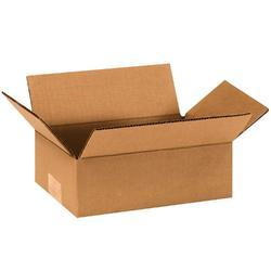 Brown Packaging Corrugated Box 10 x 6 x 2 Inch for Food