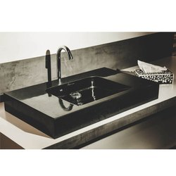 Capstona Executive Black Marble Wash Basin