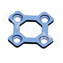 3 Dimensional Square Segments Bone Plate