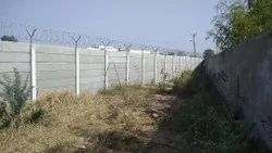 Security Compound Wall