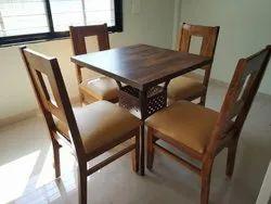 Pridiyos Plywood With Laminate Cafe Table