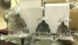 German Silver Singhasan